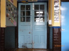 The original doors are still being used! Image courtesy David Evans.