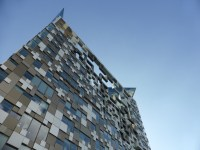 I'm not sentimental about architecture, but The Cube is hideous. There, I said it.