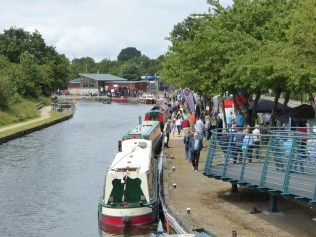 Nice to see the canalside so busy