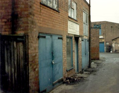 Baker Bond first premises at Rushall from which we started in 1982. Image very kindly supplied by John Sylvester.