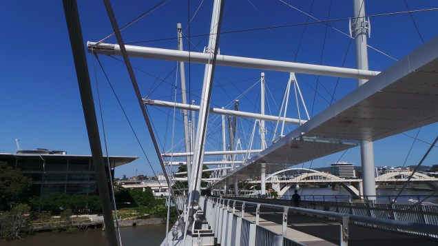 What a remarkable structure - and oh for such an azure sky... Image supplied by Trevor Brown.