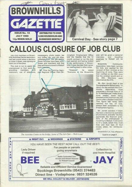 Brownhills Gazette July 1990 issue 10_000001