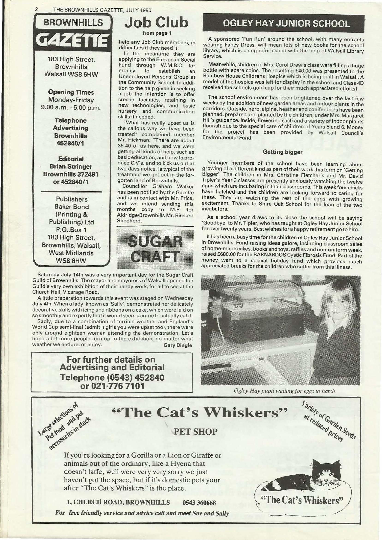Brownhills Gazette July 1990 issue 10_000002