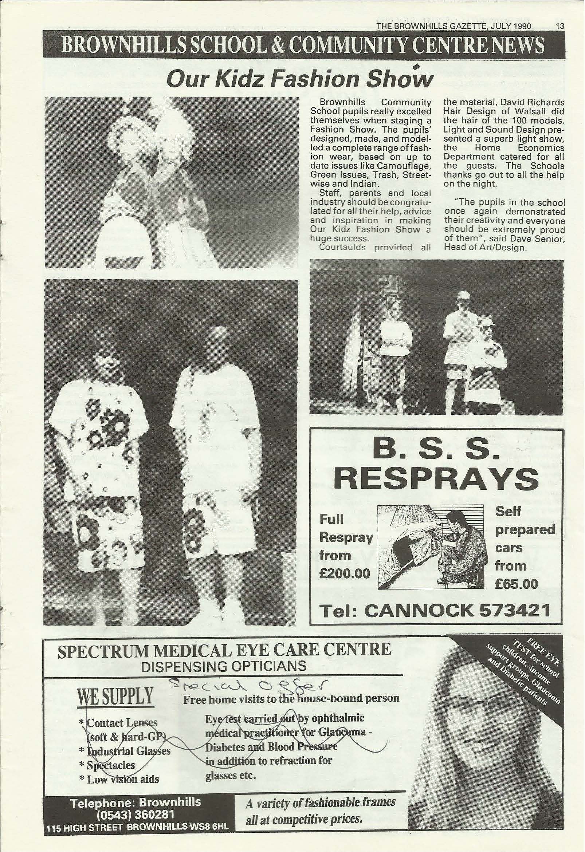 Brownhills Gazette July 1990 issue 10_000013