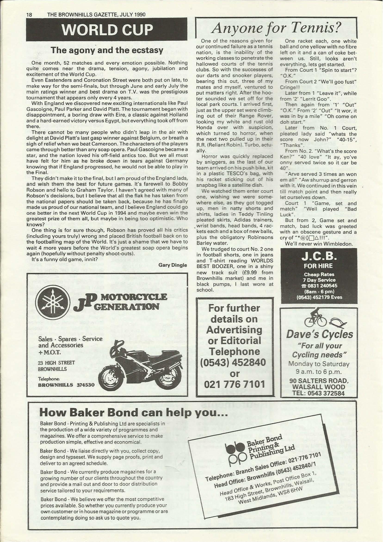 Brownhills Gazette July 1990 issue 10_000018