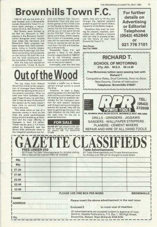 Brownhills Gazette May 1990 issue 8_000015