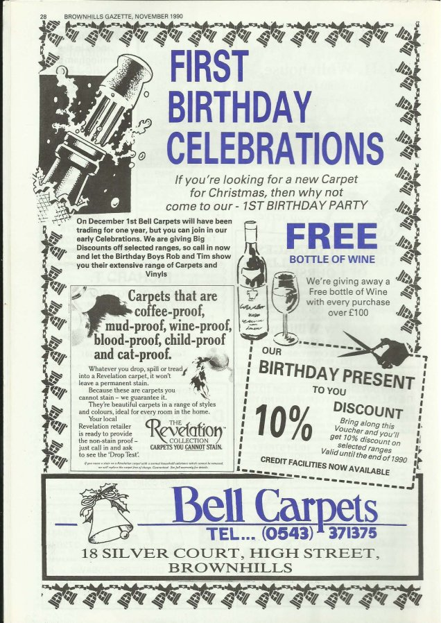 Brownhills Gazette November 1990 issue 14_000028