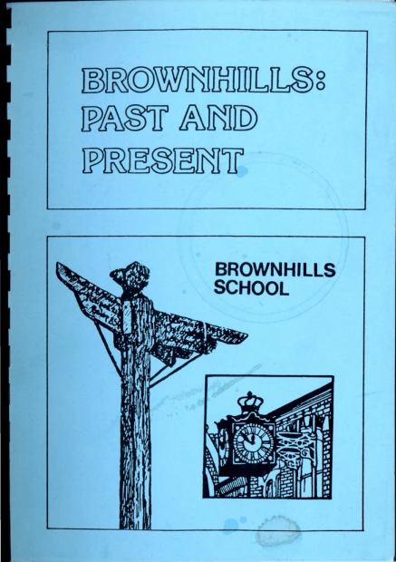 Brownhills Past and Present - 1985 optimised