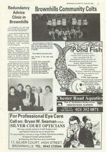 Brownhills Gazette August 1991 issue 23_000007