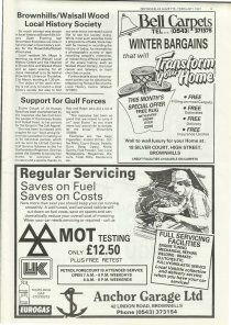 Brownhills Gazette Fbruary 1991 issue 17_000005