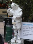 Mime seems to be the new busking.