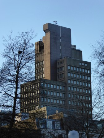 103 Colmore Row still dwarfs the city - due to be demolished, it's a tour de force of Brutalism designed for Natwest by Birmingham architect John Madin and one of my favourite buildings.