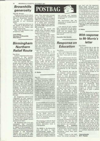 Brownhills Gazette December 1991 issue 27_000020