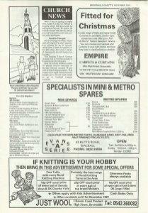Brownhills Gazette November 1991 issue 26_000007