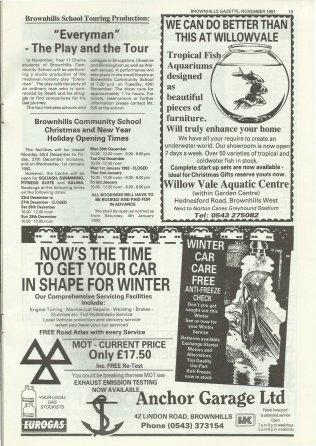 Brownhills Gazette November 1991 issue 26_000019