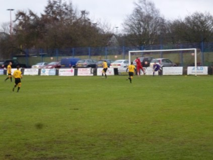 And nearly resulted in a goal to the home side