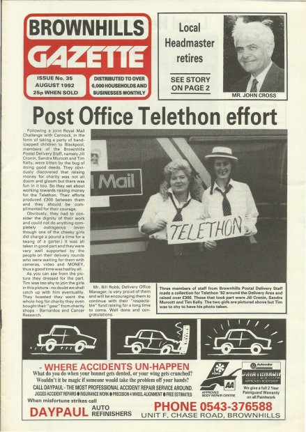 Brownhills Gazette August 1992 issue 35_000001