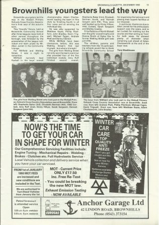 Brownhills Gazette December 1992 issue 39_000013