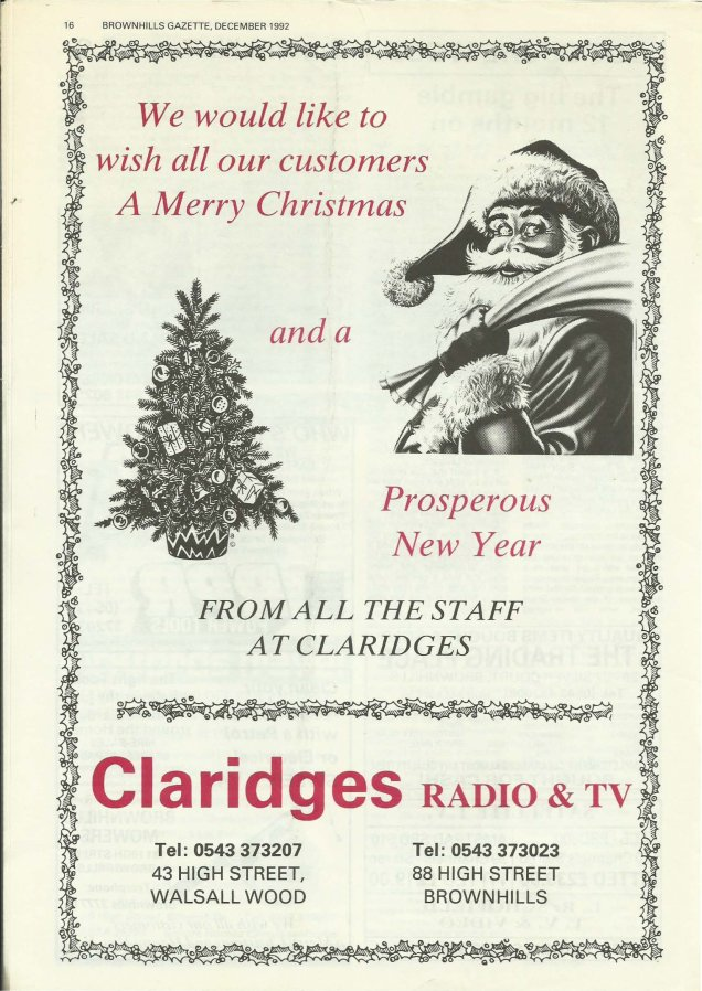 Brownhills Gazette December 1992 issue 39_000016