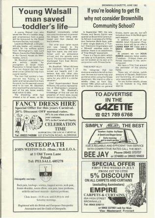 Brownhills Gazette June 1992 issue 33_000013