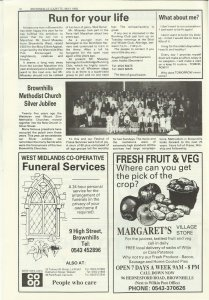 Brownhills Gazette May 1992 issue 32_000020