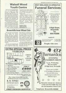 Brownhills Gazette October 1992 issue 37_000005