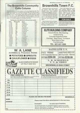 Brownhills Gazette October 1992 issue 37_000015