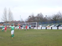 An early attack by Walsall Wood, met by good defending and goal-keeping by Brocton.