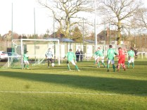 So close, but Brocton were today's winners..