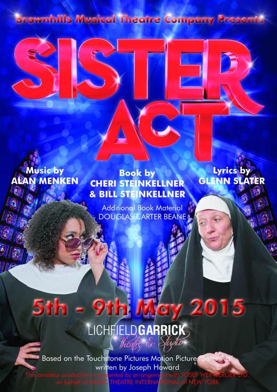 Sister Act poster Final
