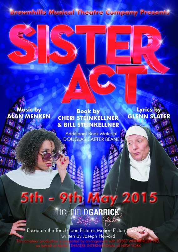 Sister Act poster Final