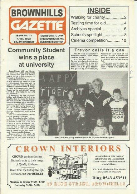 Brownhills Gazette April 1993 issue 43_000001