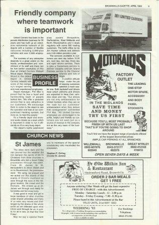 Brownhills Gazette April 1993 issue 43_000009