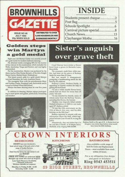Brownhills Gazette July 1993 issue 46_000001