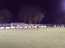 The second half saw Alvechurch beginning to take control and put Walsall Wood under pressure
