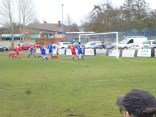 AFC Wulfrunanis goalkeeper, playing an excellent game.