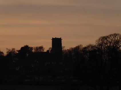 Shenstone Church with the distinctive gargoyles