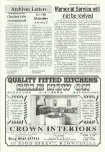 Brownhills Gazette January 1994 issue 52_000005