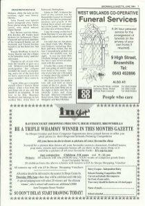 Brownhills Gazette June 1994 issue 57_000007