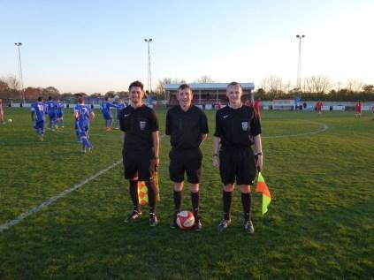 Officials, Messrs Brown,Wainman and Laska