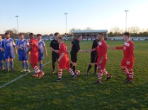 Visitors Dunkirk played in blue this evening