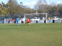 A fumble by the visitors' goalkeeper and Walsall Wood attacker scored the only goal in a well-played and sporting match.