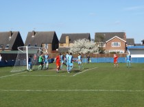 Walsall Wood's second goal