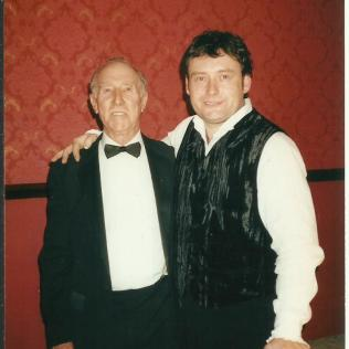 With Jimmy White