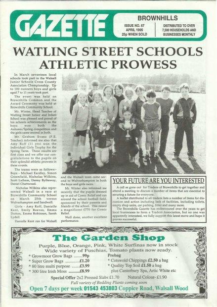 Brownhills Gazette April 1995 issue 67_000001