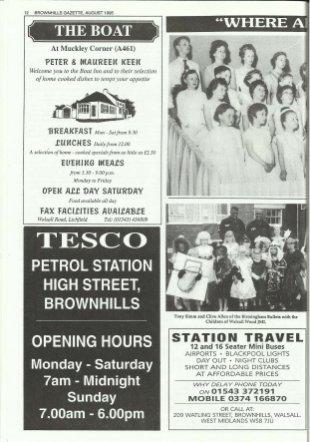 Brownhills Gazette August 1995 issue 71_000012