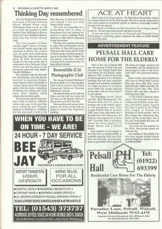 Brownhills Gazette March 1995 issue 66_000012
