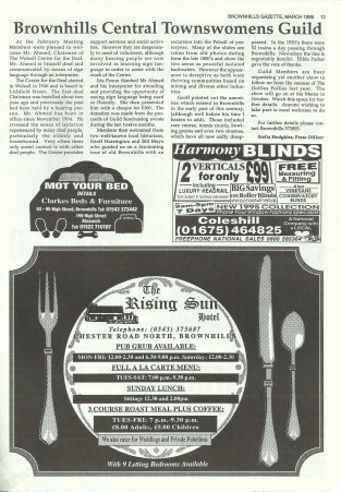 Brownhills Gazette March 1995 issue 66_000013