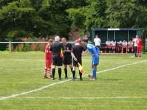 Lichfield City played in blue