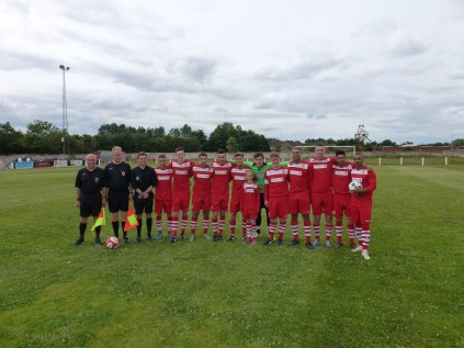 Walsall Wood Fc squad , match officials and Miss Mollie Stretton